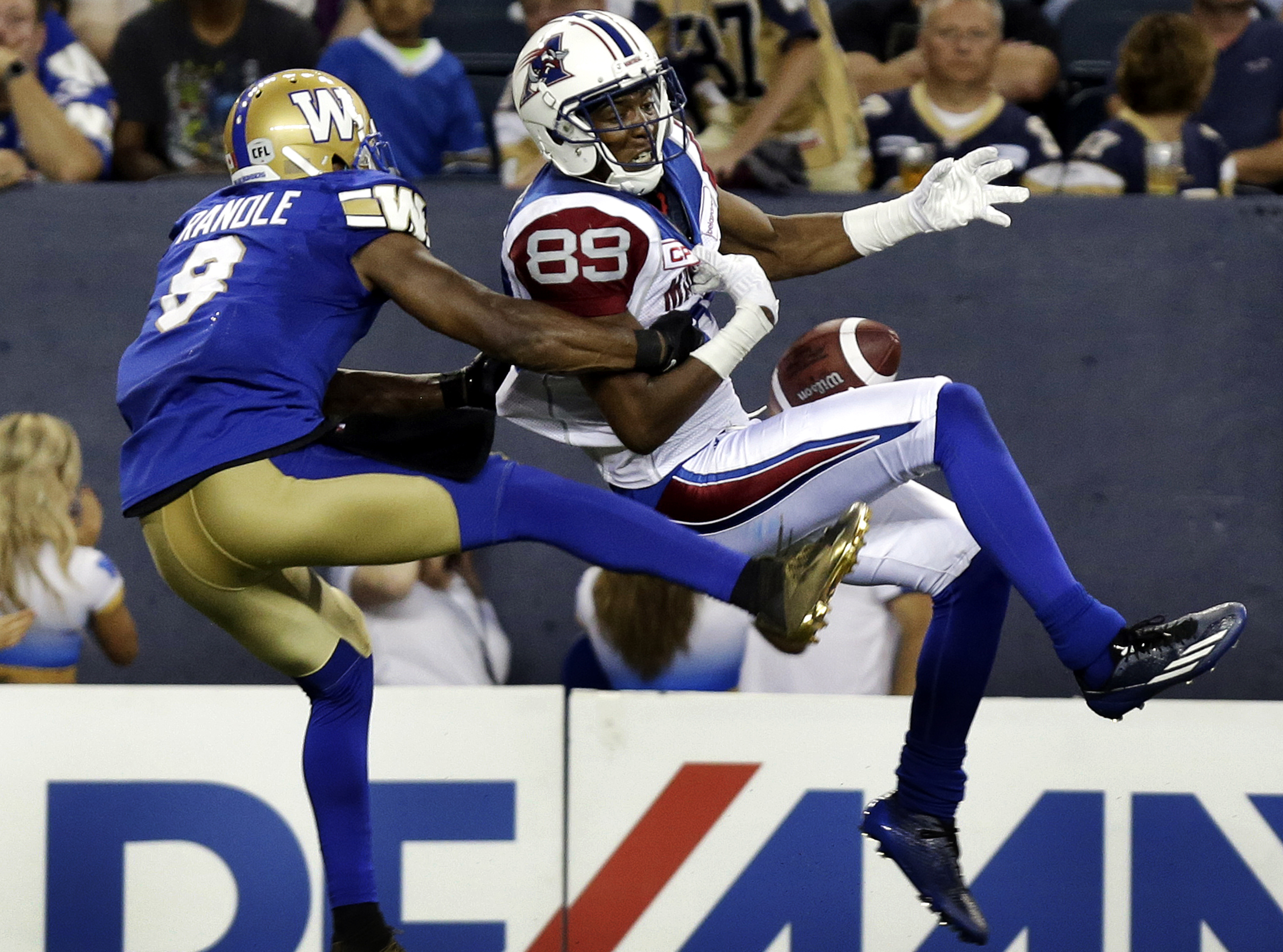 CFL Football - Winnipeg Blue Bombers v Montreal Alouettes